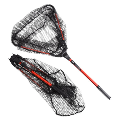 Aluminum Alloy 80cm Retractable Fishing Net