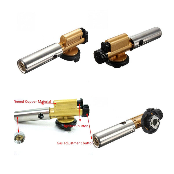 Electronic Ignition Copper Gas Burners Gun