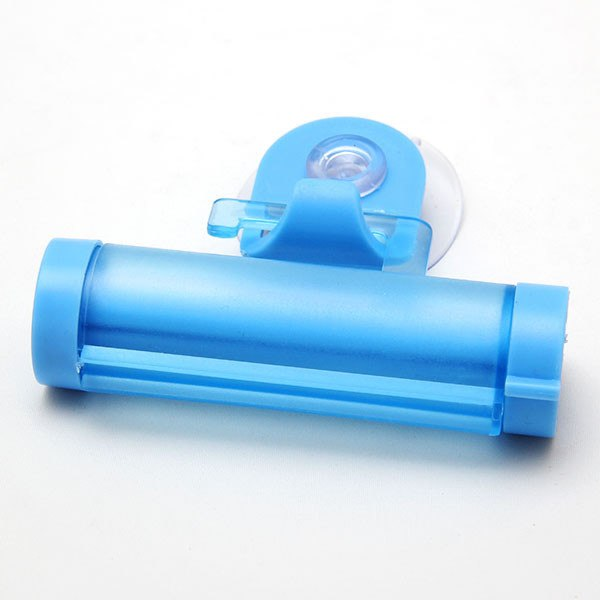 1Pc Rolling Squeezer Toothpaste Dispenser Tube Sucker Holder Dental Cream Bathroom Accessories Manual Syringe Gun Dispenser