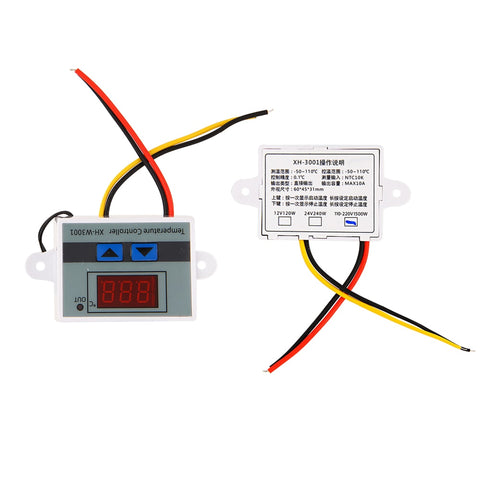 Digital Microcomputer Thermostat Switch Thermometer