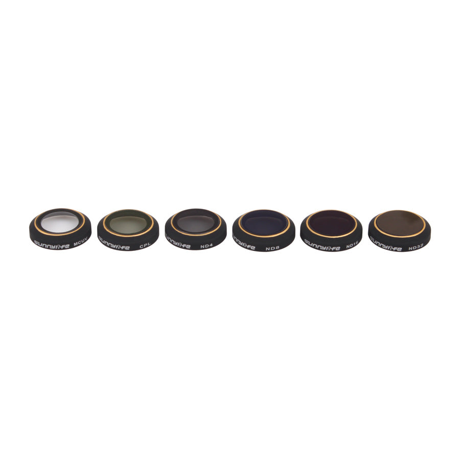 6pcs Camera Lens UV+CPL+ND4/8/16 /32 Filter for DJI Phantom3 Pro