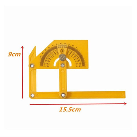 Angle Engineer 180 Degree Protractor Finder