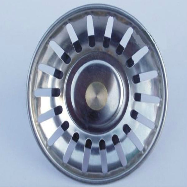 Stainless Steel Kitchen Sink Rubber Brass Strainer
