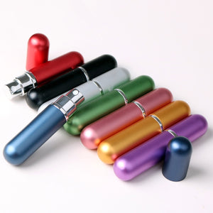 5ml Refillable Portable Mini Perfume Bottle &Traveler Aluminum Spray Atomizer Empty Parfum Bottle