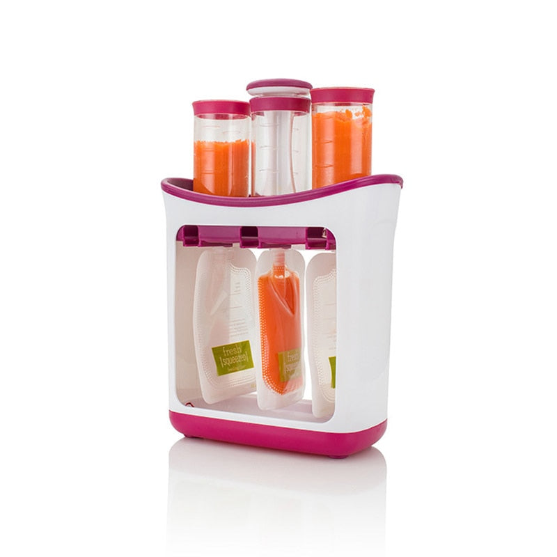 Squeeze Food Station Baby Packing Machine