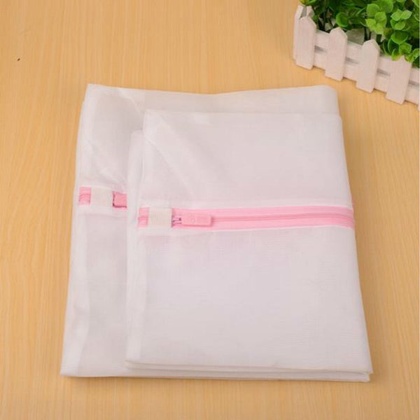 Clothes Wash Laundry Lingerie Net Wash Bag Home Wash Saver Mesh Net 30x40CM