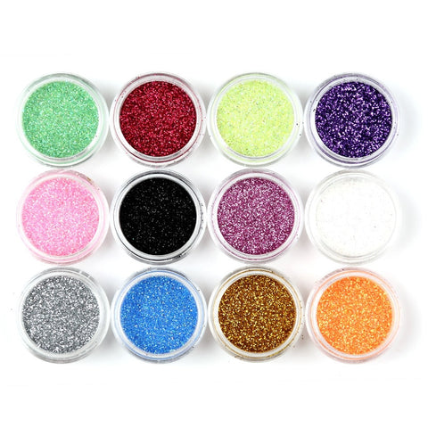 Nail Glitter Assorted Colors