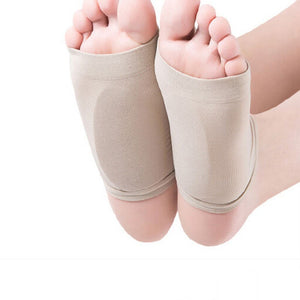 GEL Plantar Fasciitis Arch Support Sleeve Cushion Foot Pain Orthotic Heel Insole
