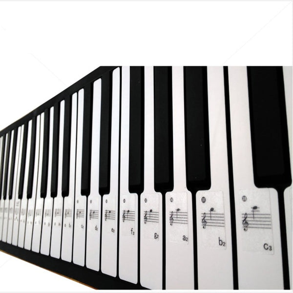 Keyboard Sticker Transparent Piano Note