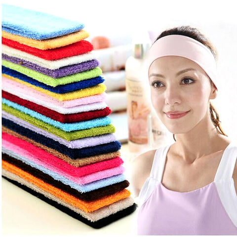 1/5pieces Women Absorbing Headband Yoga Accessories