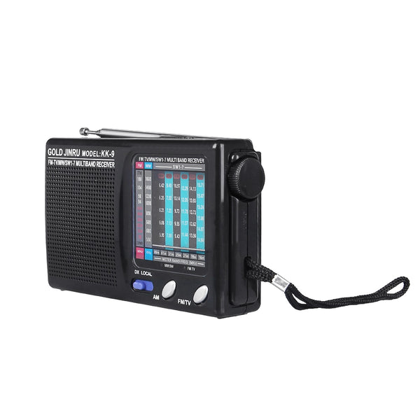 KK-9 Pocket 9 Radio Wireless Speakers Portable AM/FM