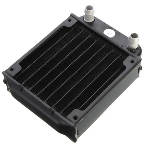 Water Cooling Radiator For Computer Chip Cooling Cooler Aluminum