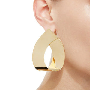 Big Dangle Earrings Drop Modern Art Jewellery
