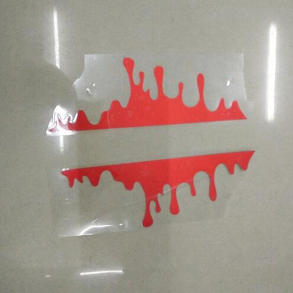 3D Creative Car Stickers Bleeding Car-Styling Covers Accessories