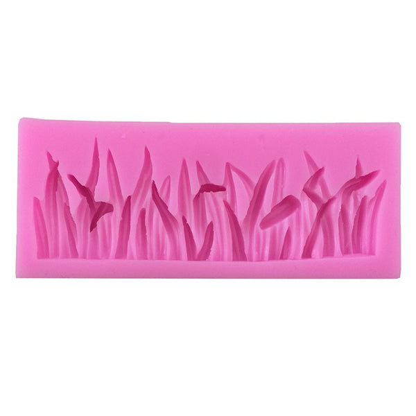 Silicone Grass Cake Decorating Mould Fondant Chocolate