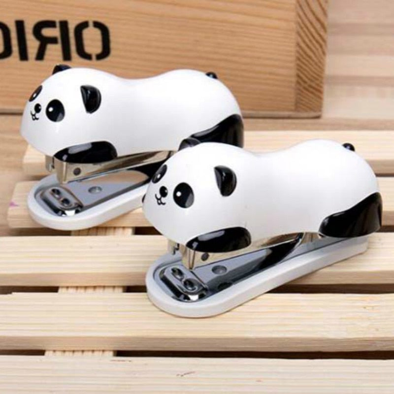 Mini Panda Stapler Set Office and School Supplies