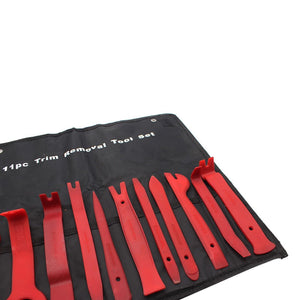 Car Audio Disassembly Tool Set Of 11 Pieces Steel Pry Plate