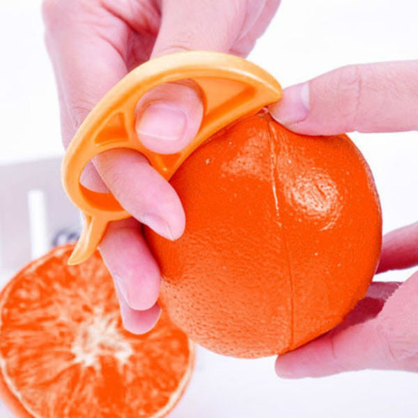 1Pcs Creative Orange Peelers Lemon Slicer Fruit Stripper Easy Opener Citrus Knife Kitchen Tools Gadgets