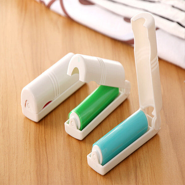 Folding Reusable Hair and Dust Remover Roller Cloth