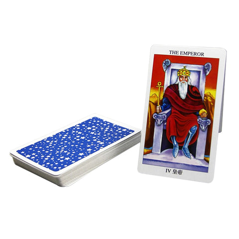 English Radiant Rider Wait Tarot Cards Factory Made High Quality