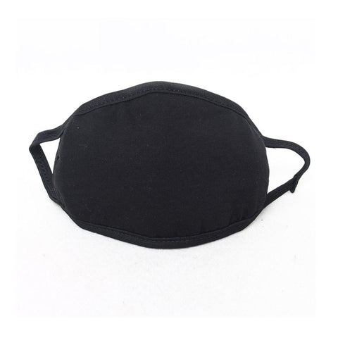 Cotton Black Health Cycling Anti-Dust Mouth Mask Unisex Mouth-Muffle Face Masks Warm Winter Outdoor Riding Fashion Accessory