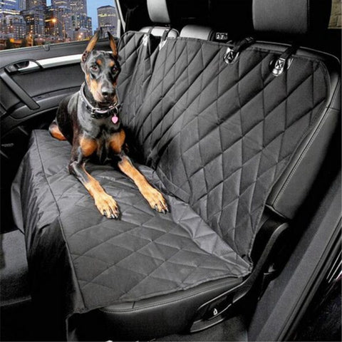 Car Pet Carrier Waterproof Anti-slip Foldable Car Mats Black Hammock