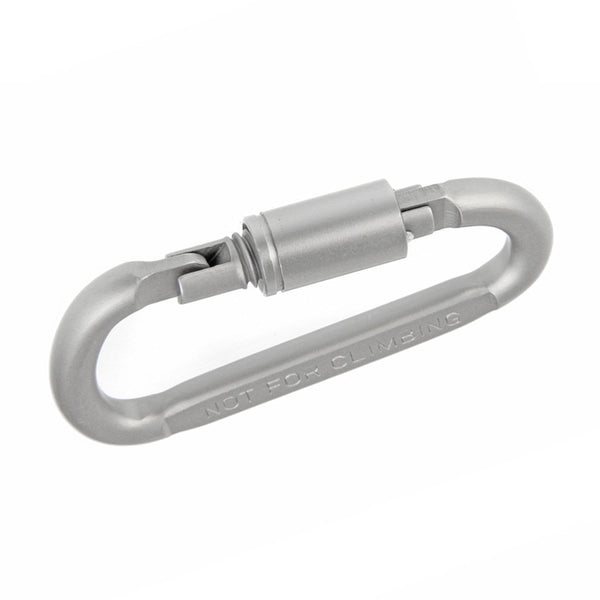 1pc Carabiner Buckle Camping Outdoor Aluminum D-Ring Screw