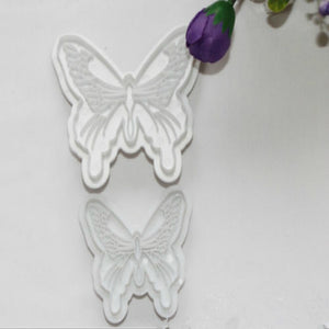 2x Butterfly Cake Fondant Decorating Mold