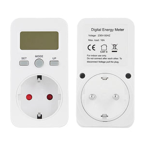 Digital Watt Meter LCD Energy Monitor Power