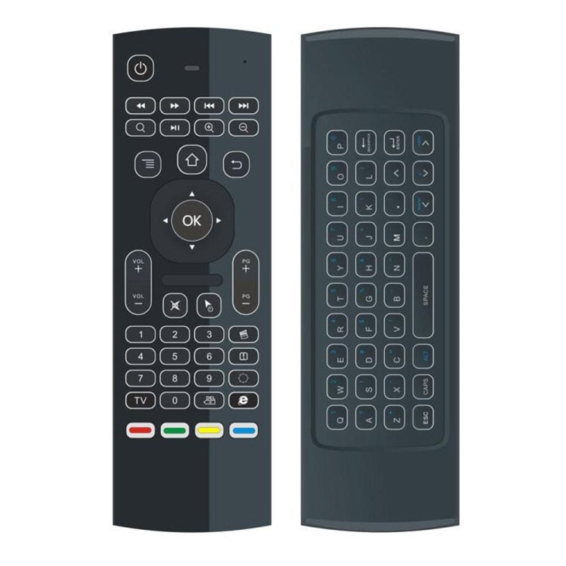 T3 Smart Voice Remote Control 2.4G RF Wireless Keyboard