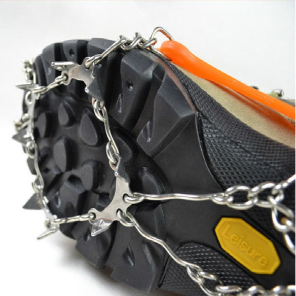 Silicon Universal Ice No Slip Snow Shoe Spikes Grips Cleats Crampons Winter Climbing No Slip Shoes Cover