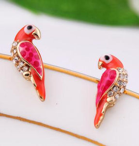 1Pair Alloy Multi-Coloured No Stone Screw Back (pierced) Costume Earrings