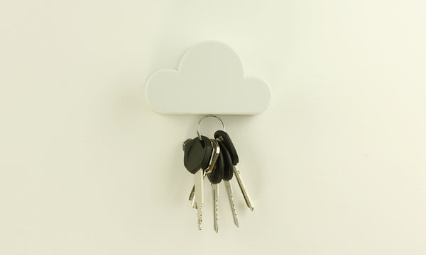 Cloud Shape Magnetic Key Holder