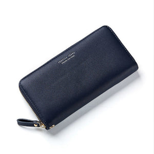 Women Long Clutch Wallet Large Capacity Wallets Female Zipper Purse Lady Purses Phone Pocket Card Holder Handbag