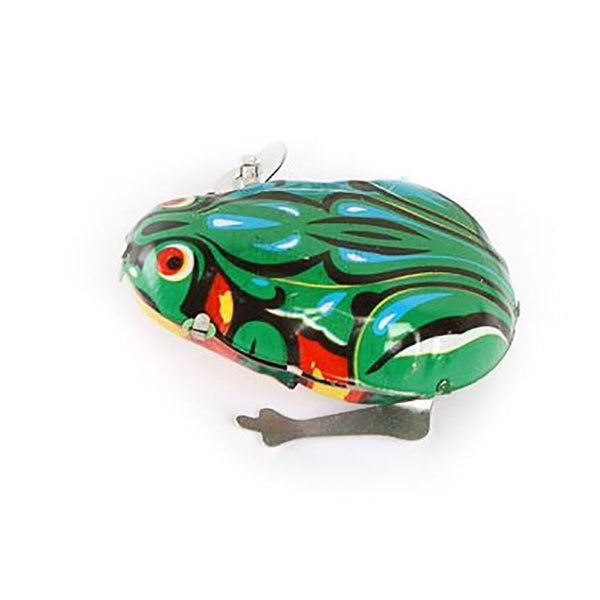 Jumping Frog Tin Toys Wind Up for Kids
