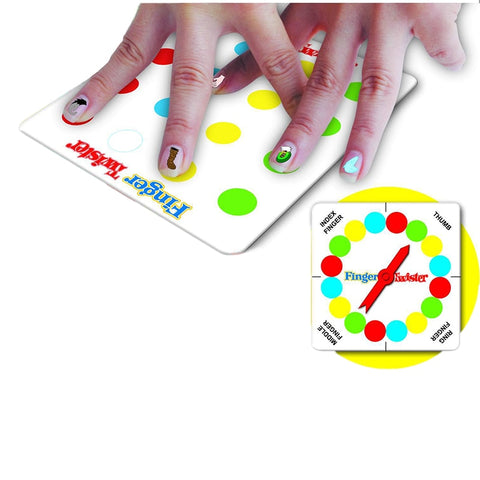 Finger Twister! Dance On Fingers Family Toys Board Game