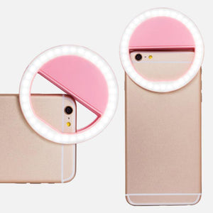 High Quality Selfie Ring Light Portable Flash Led Camera for phone