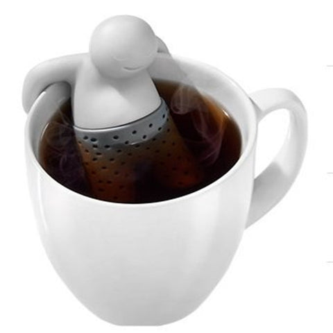 Teapot cute Tea Infuser Coffee Silicone Strainer