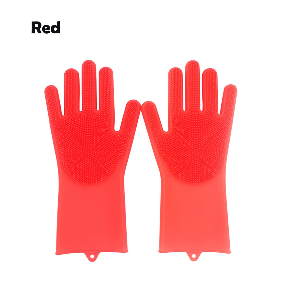 1 pair of magic dishwashing gloves
