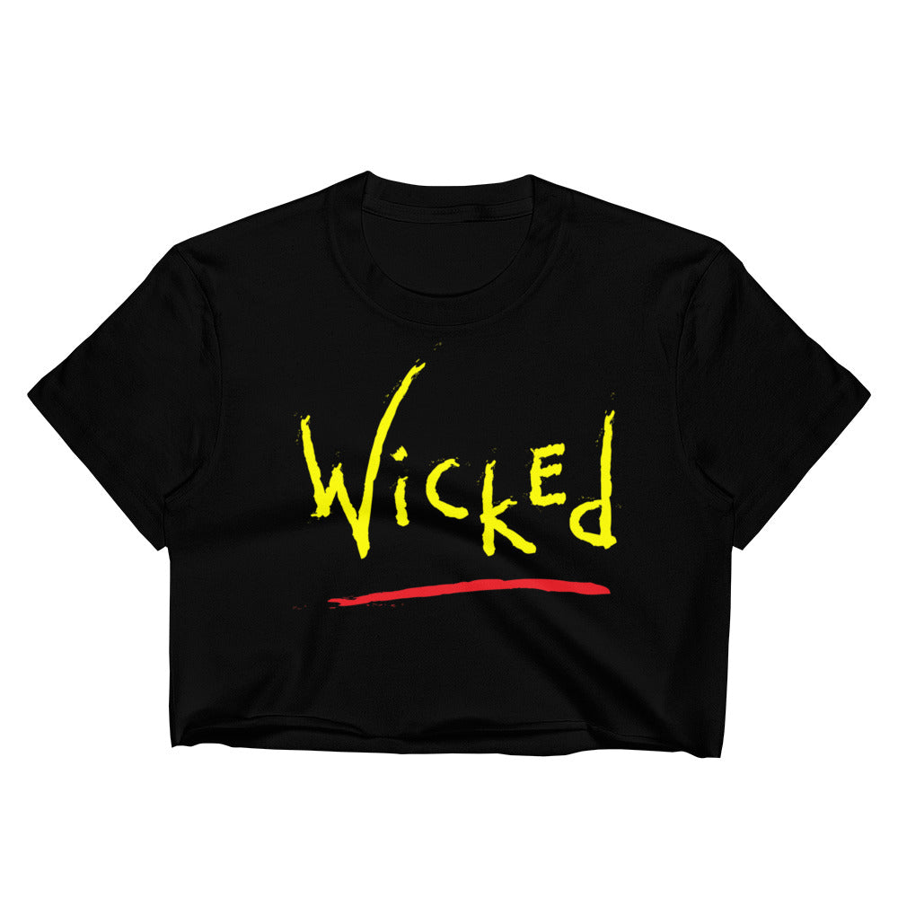 Wicked - Women's Crop Top