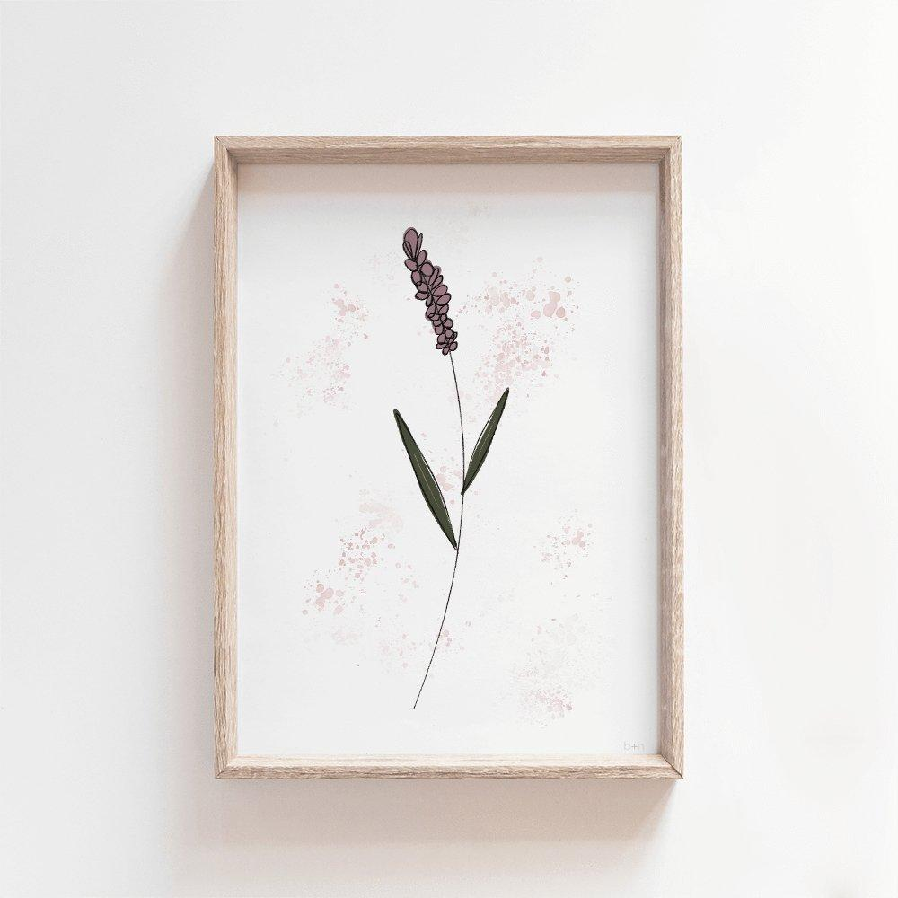 June | Wildflower Art Print Art Prints Blond + Noir