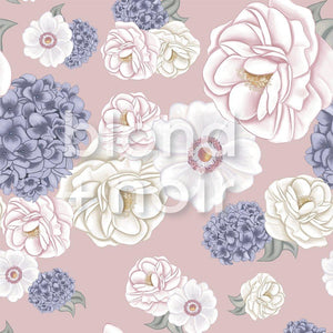 La Mairie Florals | Removable Wallpaper | For Hide & Seek Kids Cubbies Wallpaper Blond + Noir