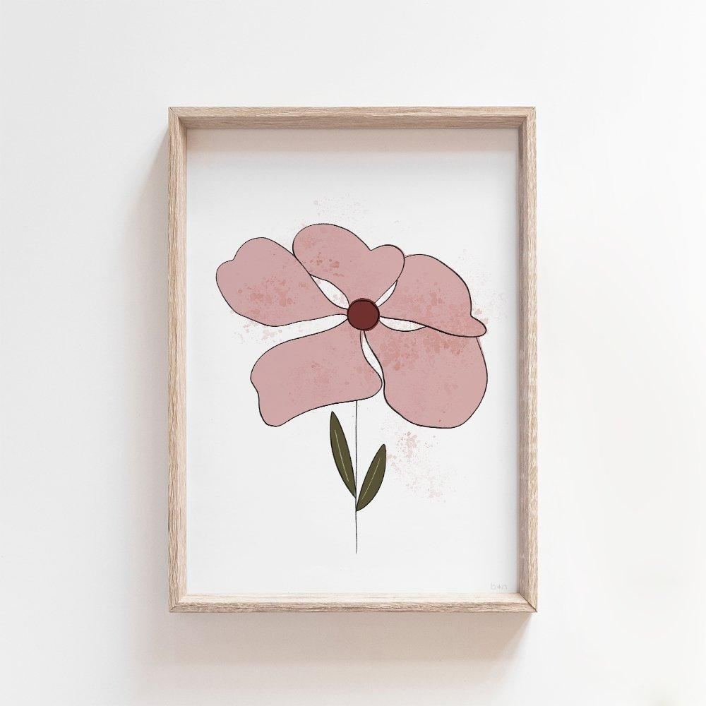 Liv | Wildflower Art Print Art Prints Blond + Noir