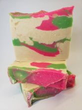 Load image into Gallery viewer, Flower Child Goat Milk Soap handmade cp soap