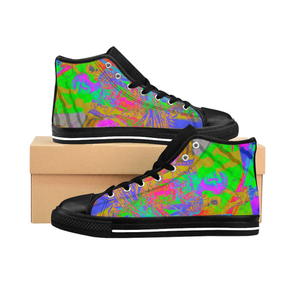 """Roma"" Men's High-top Sneakers - KAG Aesthetics"