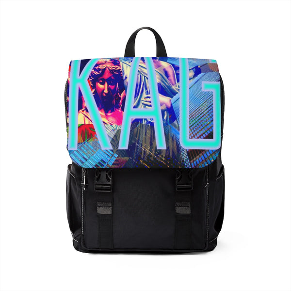 "Unisex ""KAG Launch"" Casual Shoulder Backpack"