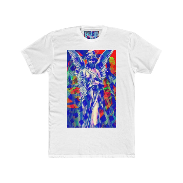 "KAG ""Angel Of Peace"" Men's Cotton Crew Tee"