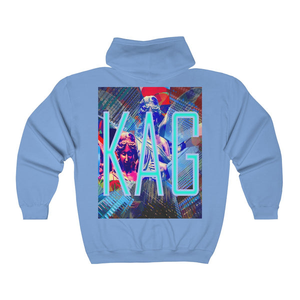 KAG Launch Unisex Heavy Blend™ Full Zip Hooded Sweatshirt