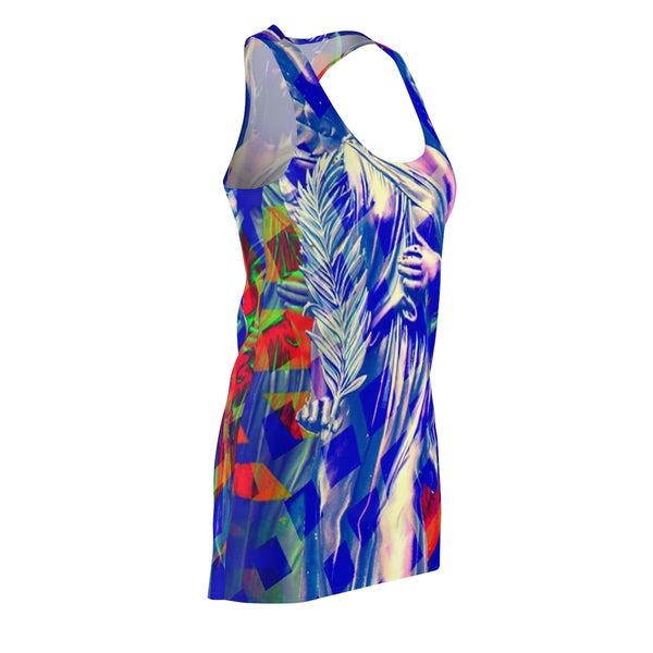 "KAG ""Angel Of Peace"" Women's Cut & Sew Racerback Dress"