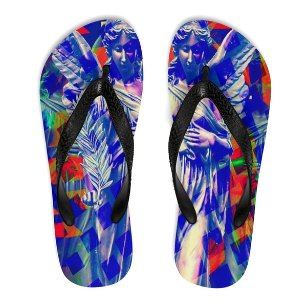 "KAG ""Angel Of Peace"" Unisex Flip-Flops - KAG Aesthetics"